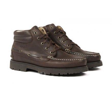 Chaussures en cuir Tarmac Mid Aigle