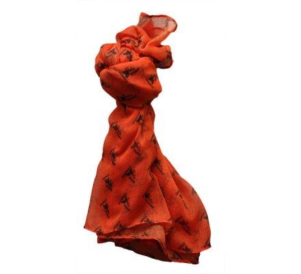 Chèche de chasse orange fluo Stagunt