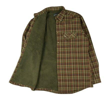 Chemise de chasse à manches longues doublée Milo Deerhunter