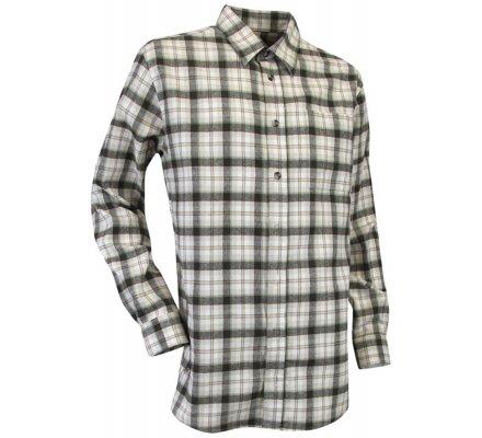 Chemise à manches longues à carreaux Vosges