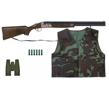 Coffret fusil et accessoires de chasse Hunter pour enfant