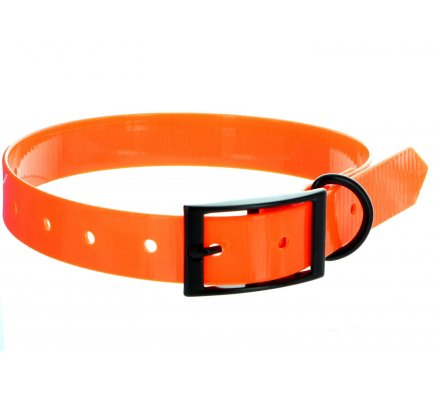 Collier TPU orange fluo