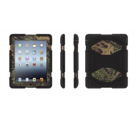 Coque iPad 2/3/4 Griffin Survivor noire / camo Mossy Oak