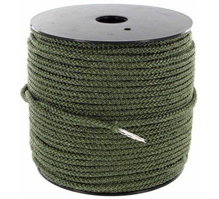 Corde tressée avec âme 4 mm