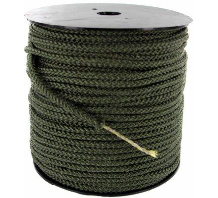 Corde tressée avec âme 6 mm