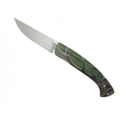 Couteau ALSAC Cerf acier