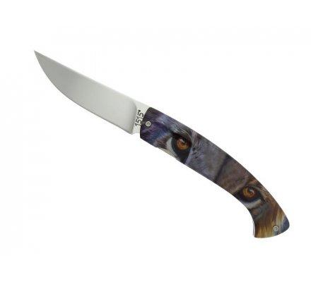 Couteau ALSAC Lion acier