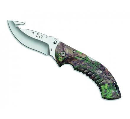 Couteau Omni Hunter Guthook Camouflage BUCK