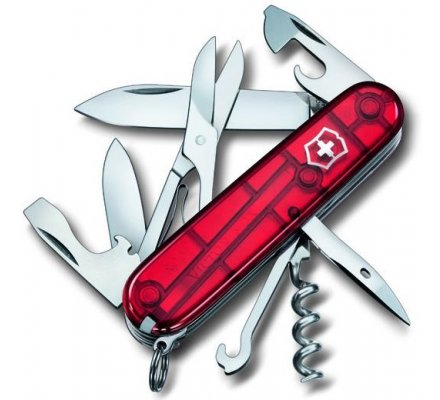 Couteau Suisse Victorinox Climber Rubis