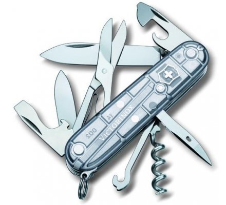 Couteau Suisse Victorinox Climber Silvertech