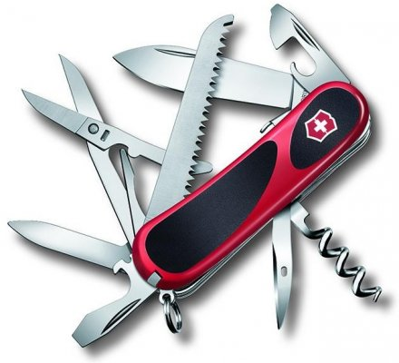 Couteau Suisse Victorinox Evogrip S17 Rouge