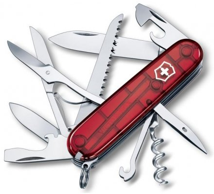 Couteau Suisse Victorinox Huntsman Rubis