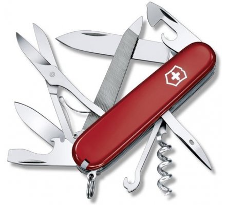 Couteau Suisse Victorinox Mountaineer Rouge