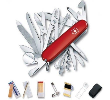 Couteau Suisse Victorinox Survival Kit Rouge