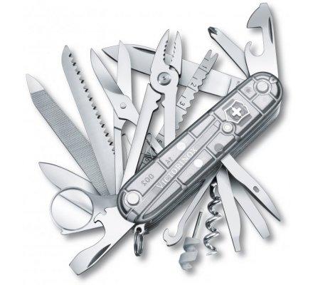 Couteau Suisse Victorinox Swisschamp Silvertech