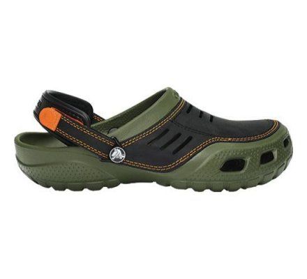 Crocs Yukon Sport Army Black&Green