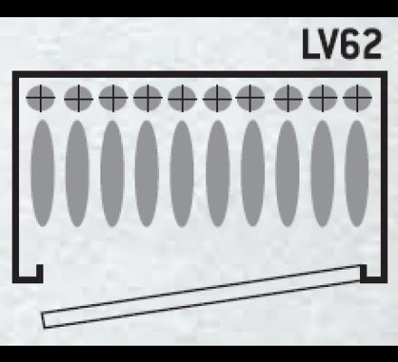 Armoire vitrine 14 armes avec lunette coffre intérieur et éclairage intérieur côtés vitrés Infac Safe
