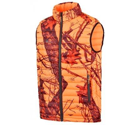 Doudoune sans manches camouflage Orange Teva Stagunt