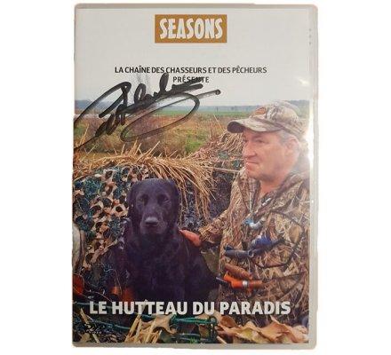 """DVD """"Le Hutteau du Paradis"""" dédicacé SEASONS"""