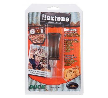 Appeau sauvagine 6 en 1 Flextone Waterfowl Whistle