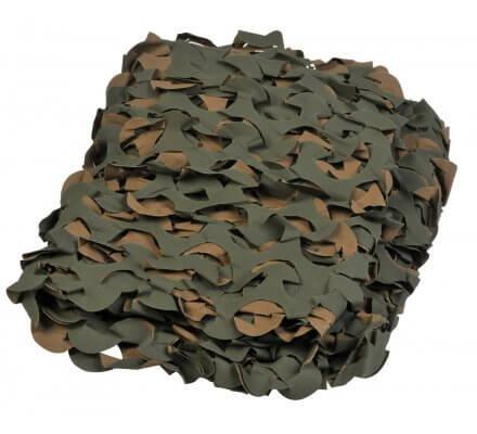 Filet de camouflage Camo System vert 3x2.40m