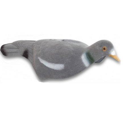 Appelant pigeon coquille (creux) floqué