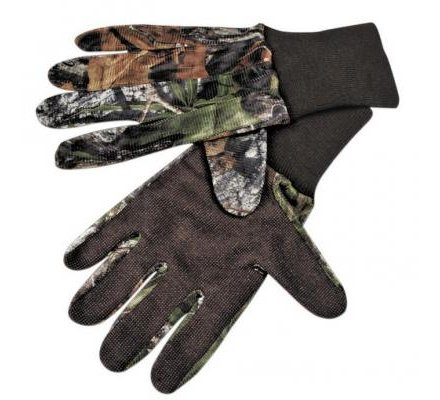 Gants chasse camouflage Mossy Oak Break Up