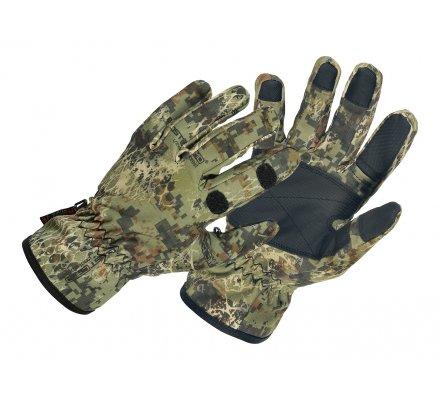 Gants de chasse Softshell GhostCamo Snake Forest Pro Hunt