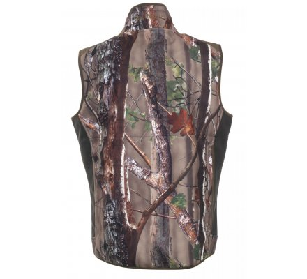Gilet de chasse sans manches polaire camouflage Gamekeeper Deerhunter