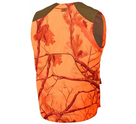 Gilet de chasse Orange camo Milano Stagunt