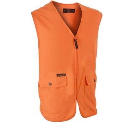 Gilet orange fluo Yukon Gear