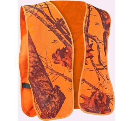Gilet de sécurité orange Mossy Oak Blaze