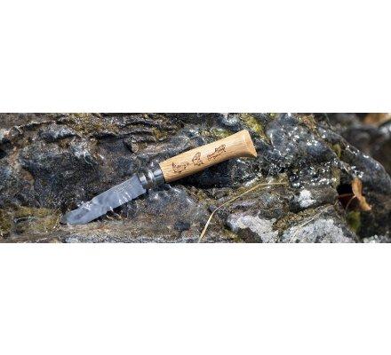 Couteau Opinel Animalia Truite N°8