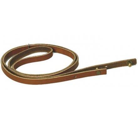 Lanière en cuir pour corne d'appel et pibole 110 cm