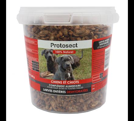 Larves entières déshydratées pour chiens et chiots Protosect