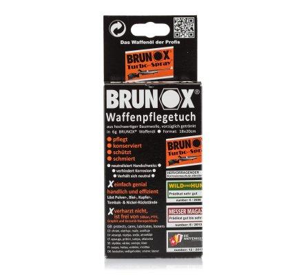 Pack de 5 lingettes d'huile Turbo-Spray Brunox