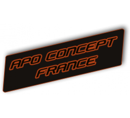 Appeau grive mauvis 3 tubes Apo Concept