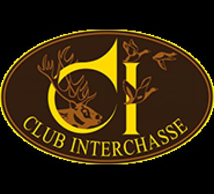 Pull de chasse col en V Bleu Weslon Club Interchasse