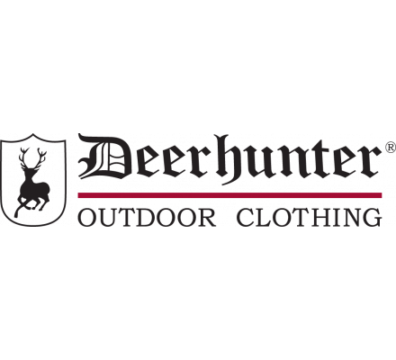 Lot de 2 tee-shirts kaki et marron Deerhunter