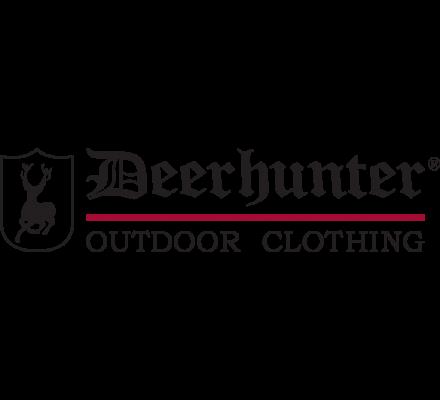 Cravate en soie rouge motif colvert Deerhunter