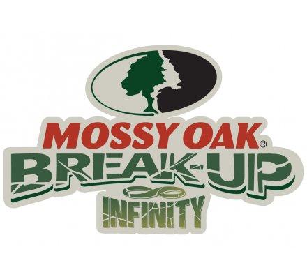 Veste polaire noire et camouflage Mossy Oak Break Up Country