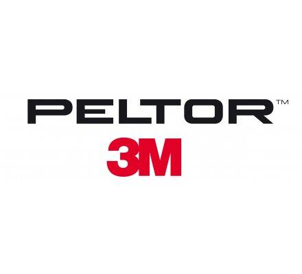 Casque aearo Peltor Sport Tac coquilles noires rouges