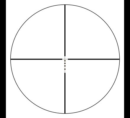 Lunette de tir Bushnell AR Optics 1-4X24 - Réticule Drop Zone 223 BDC
