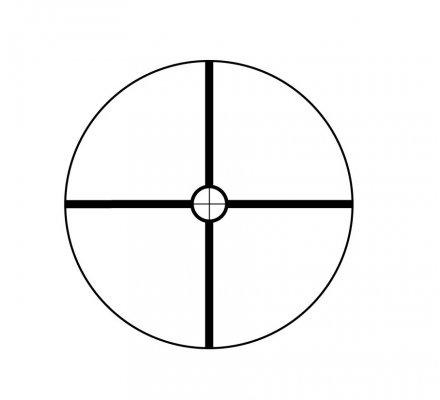 Lunette de tir Bushnell Banner 1-4X32 - Réticule Circle X