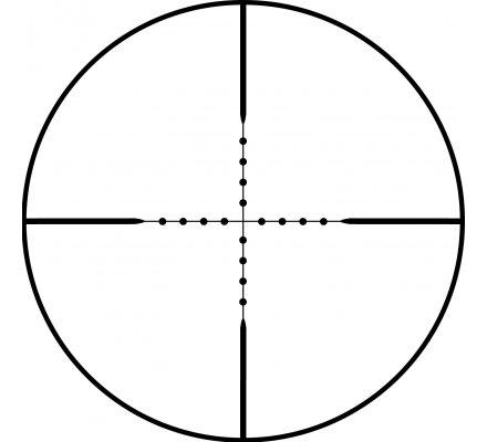 Lunette de tir Bushnell Trophy 3-9X40 - Réticule Mil Dot