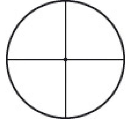 Lunette de tir Tasco Target 10-40x50 - Réticule Croix