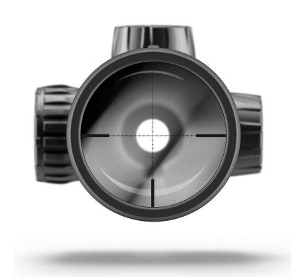 Lunette de tir Zeiss Conquest V6 Target 3-18X50 - Réticule ZMOA 2 - Tourelle Balistique