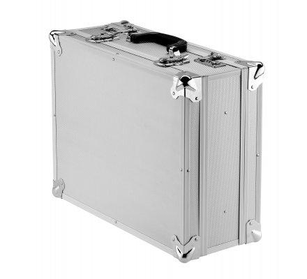 Mallette de transport aluminium pour revolver