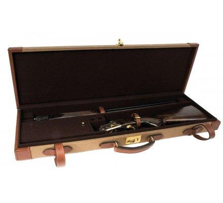 Mallette de transport pour fusil rigide en cuir
