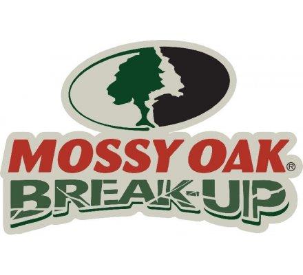 Cagoule 3/4 en maille Mossy Oak Break Up